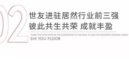 世友地板携手居然之家合作共辟新征程儋州